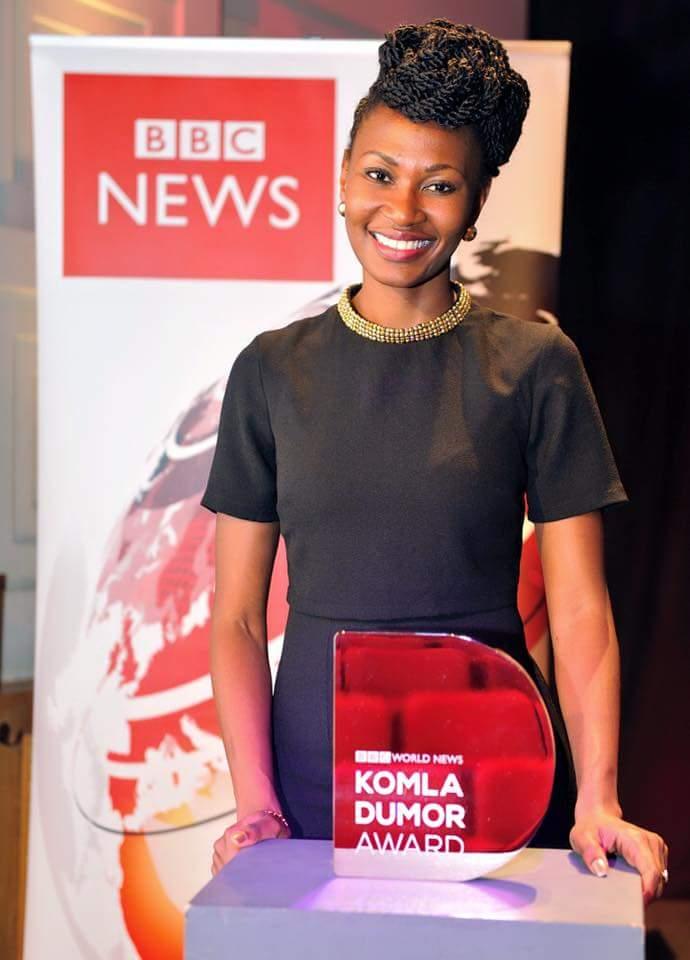 Nancy Kacungira gets her BBC award