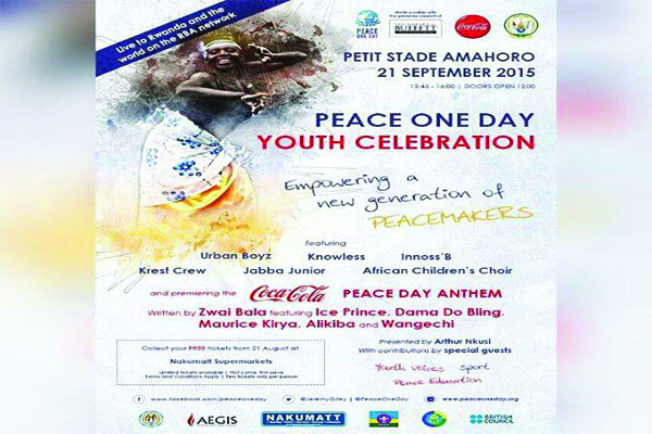The peace day celebrations