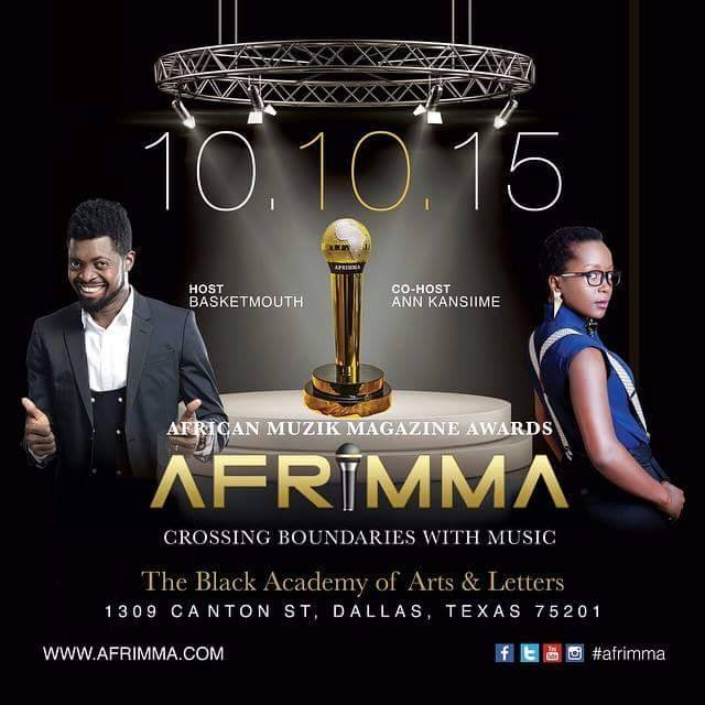 Anne Kansiime all set for the Afrimma's this weekend.
