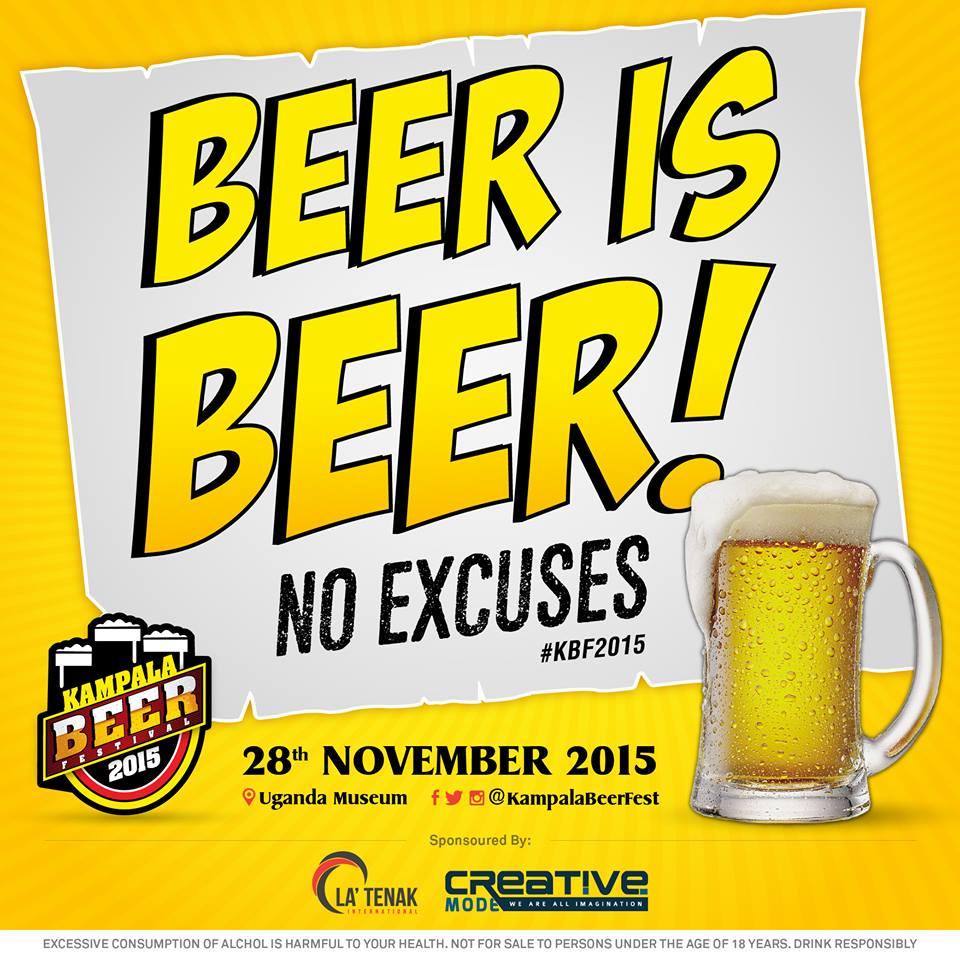 The Kampala beer fest happening soon.