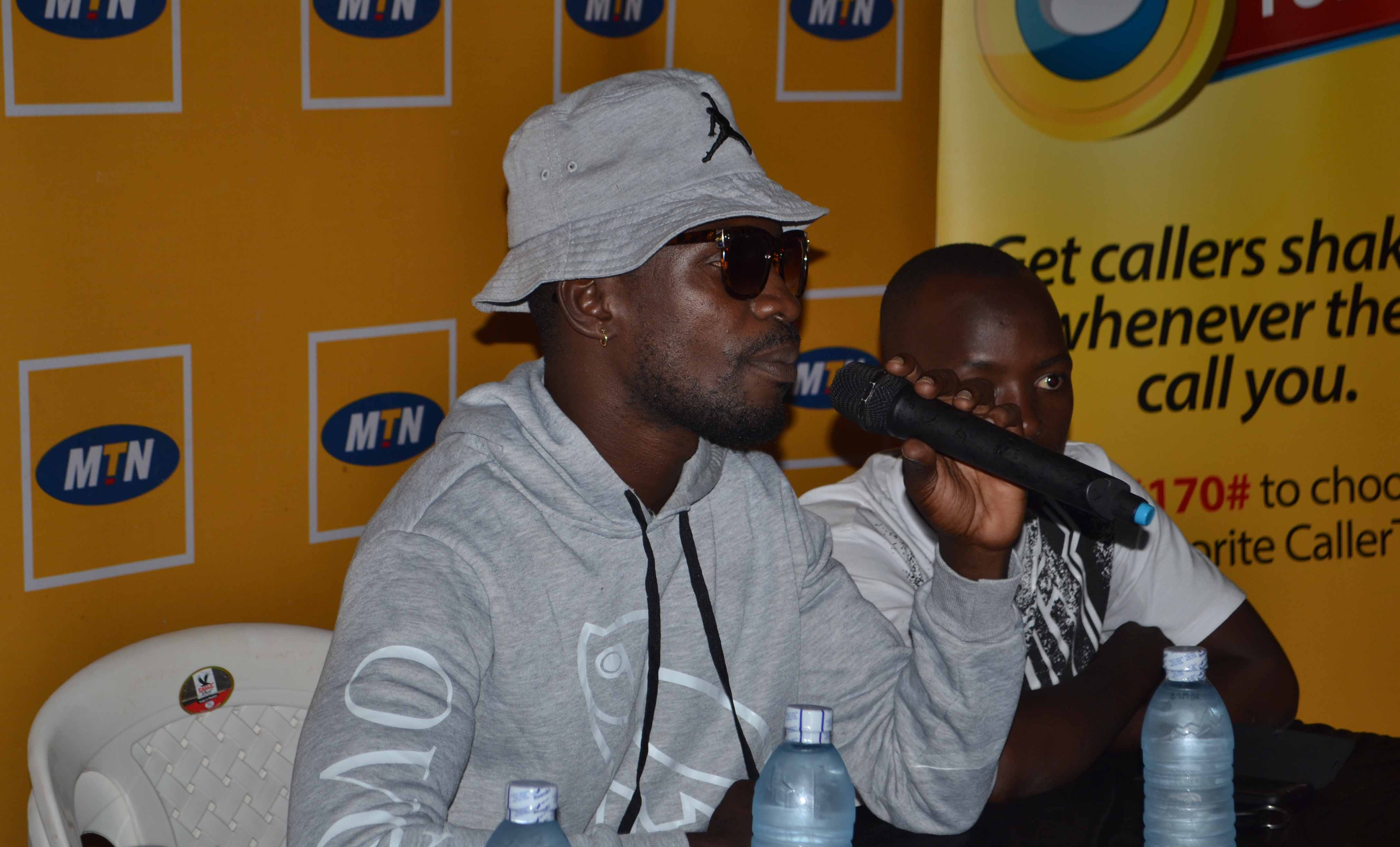 Bobi Wine talks about his upcoming concert