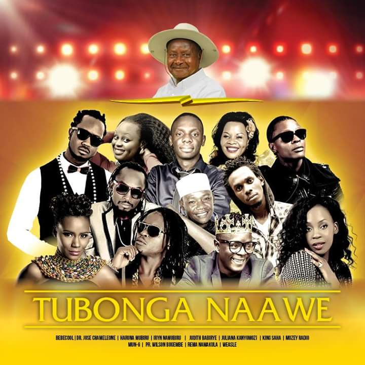 Poster of the upcoming Tubonga Naawe song