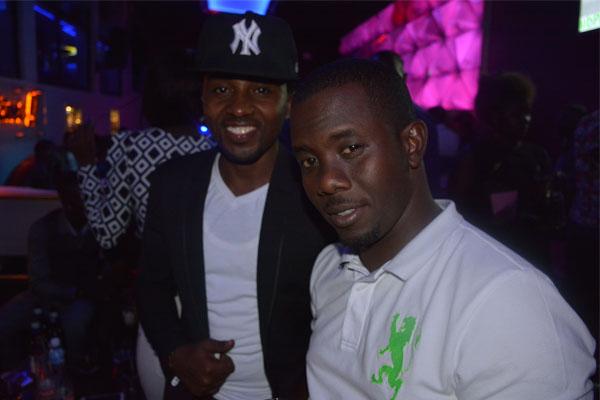 Richard Tuwangye and Bugingo Hannington Comedians