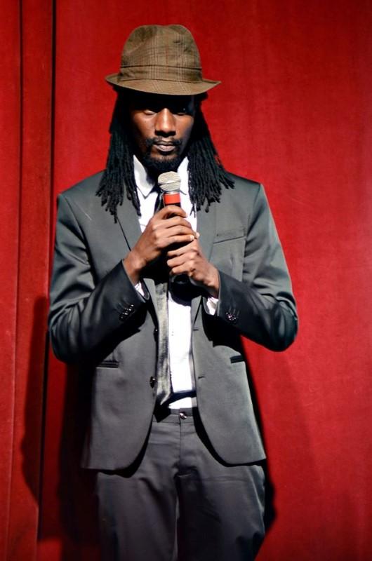 The movie director Lukyamuzi Bashir