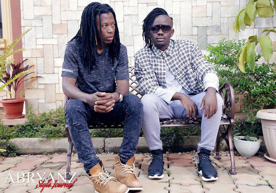 Nince Henry hangs out with fashion designer Abryanz