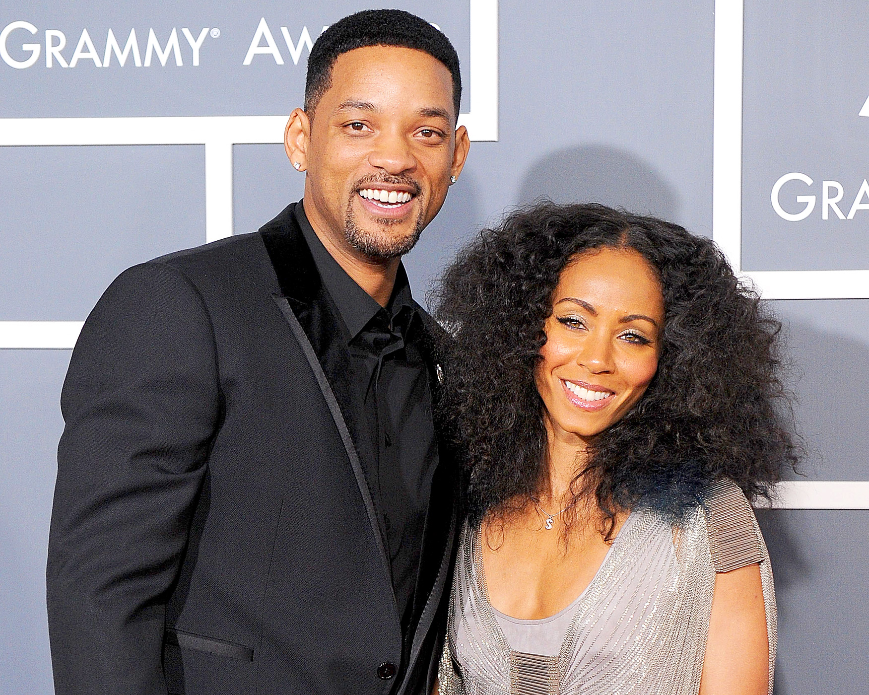 Jada Pickett Smith with her husband Will Smith