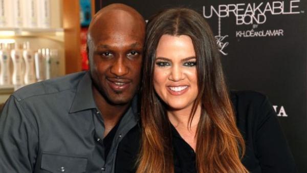 The good old days, Lamar Odom with estranged wife Khloe Kardashian