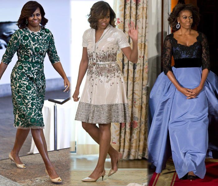 Michelle Obama; Flawless Sleek Simple & Powerful Style