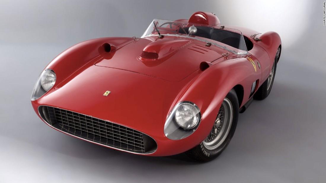 A 1957 Ferrari 335 S Spider Scaglietti to smash the world car ...