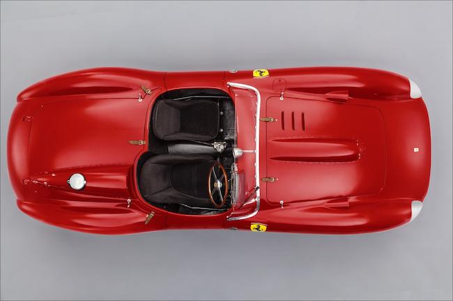 1957-Ferrari-315-335-S-Scaglietti-Spyer-Overhead