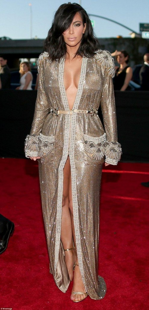 2016-57th-font-b-Grammy-b-font-Awards-Kim-Kardashian-Celebrity-Dress-font-b-Red-b