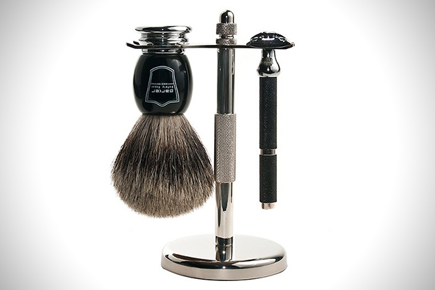 Parker-71R-Safety-Razor-Shave-Set