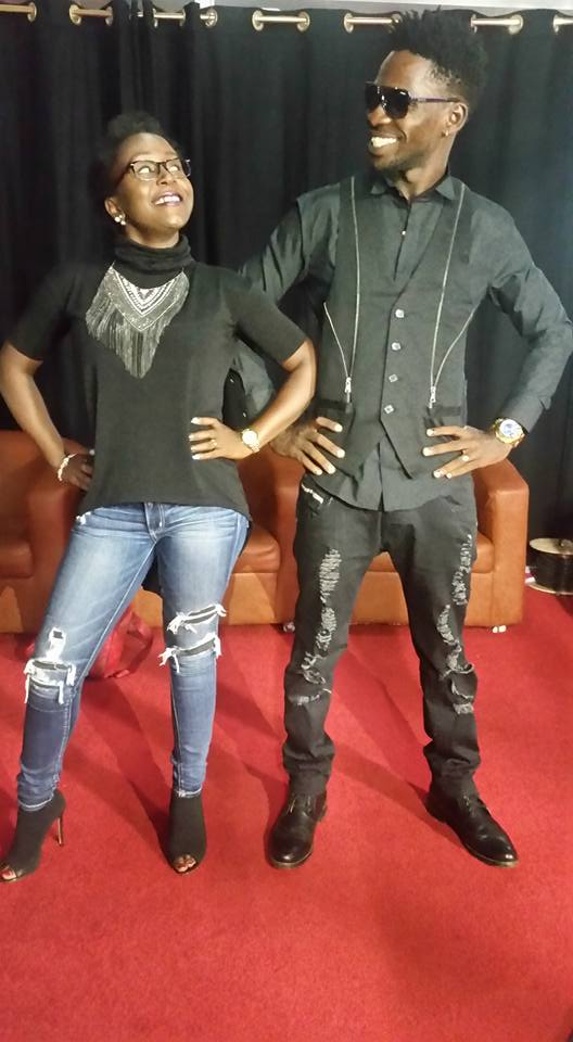 Bobi Wine ready for the I am Kansiime show