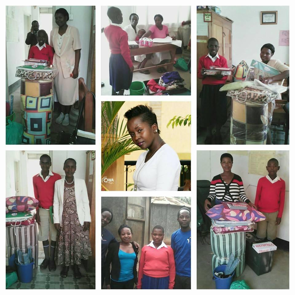 Kansiime Anne sends off children to school