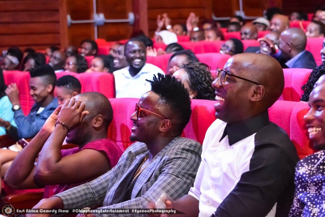 Alex Muhangi cracked up the famous Kenyan band Sauti Sol