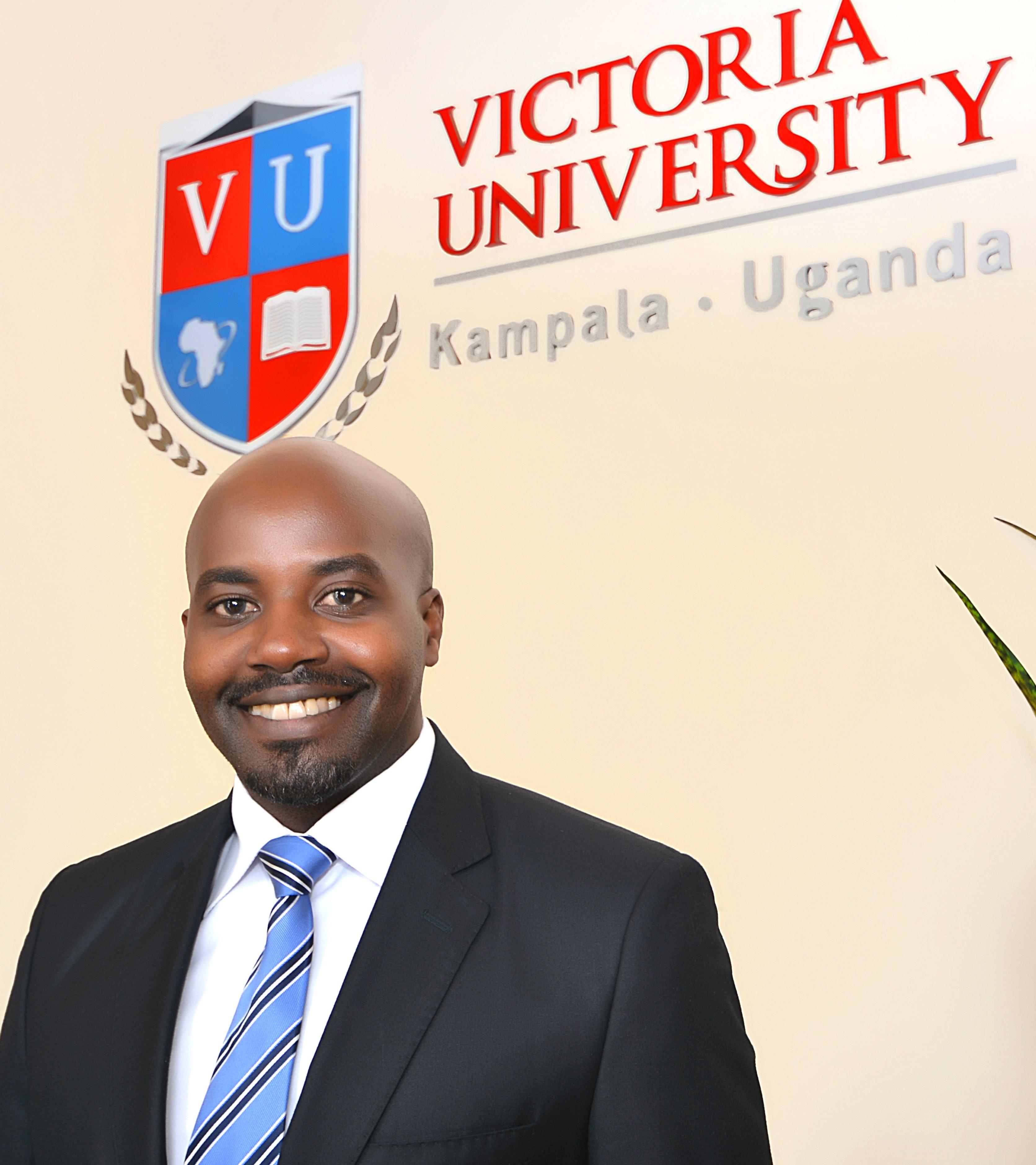 Oscar Kamukama, the marketing and recruitment specialist - Victoria University