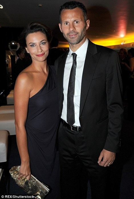 The good old days: Ryan Giggs with his wife Stacey