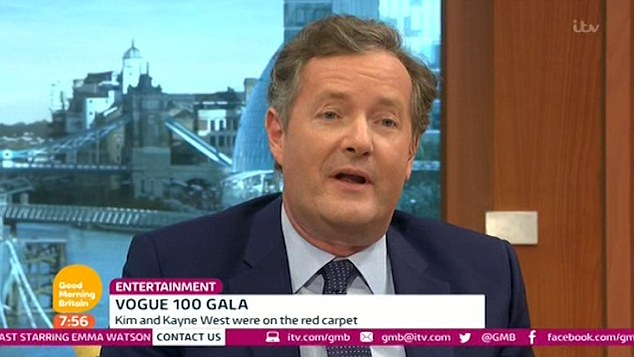 Piers Morgan slams Kim Kardashian