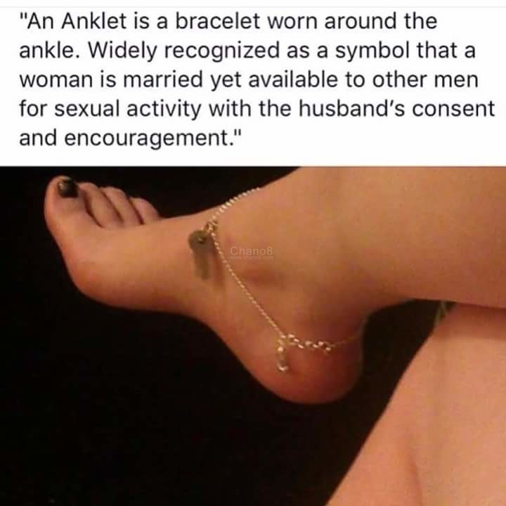 The Significance Of Wearing An Anklet - Chano8