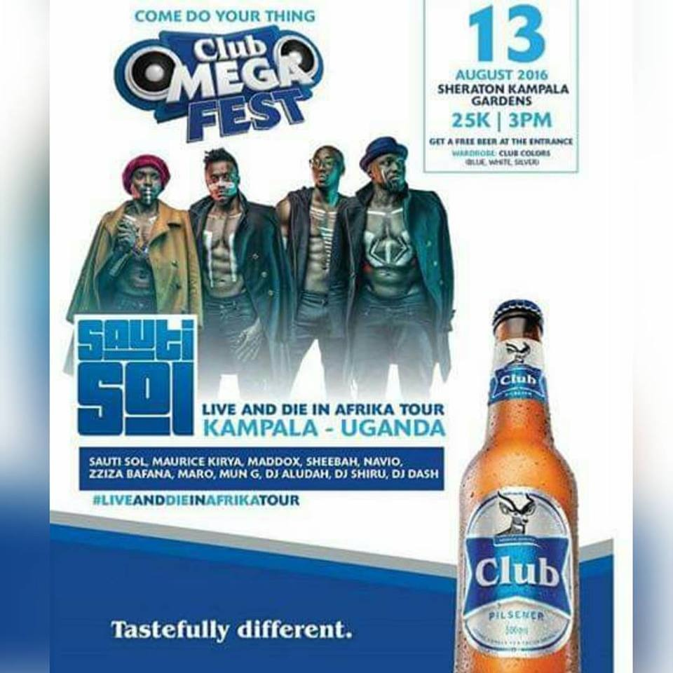 Sautisol to perform in Kampala next month