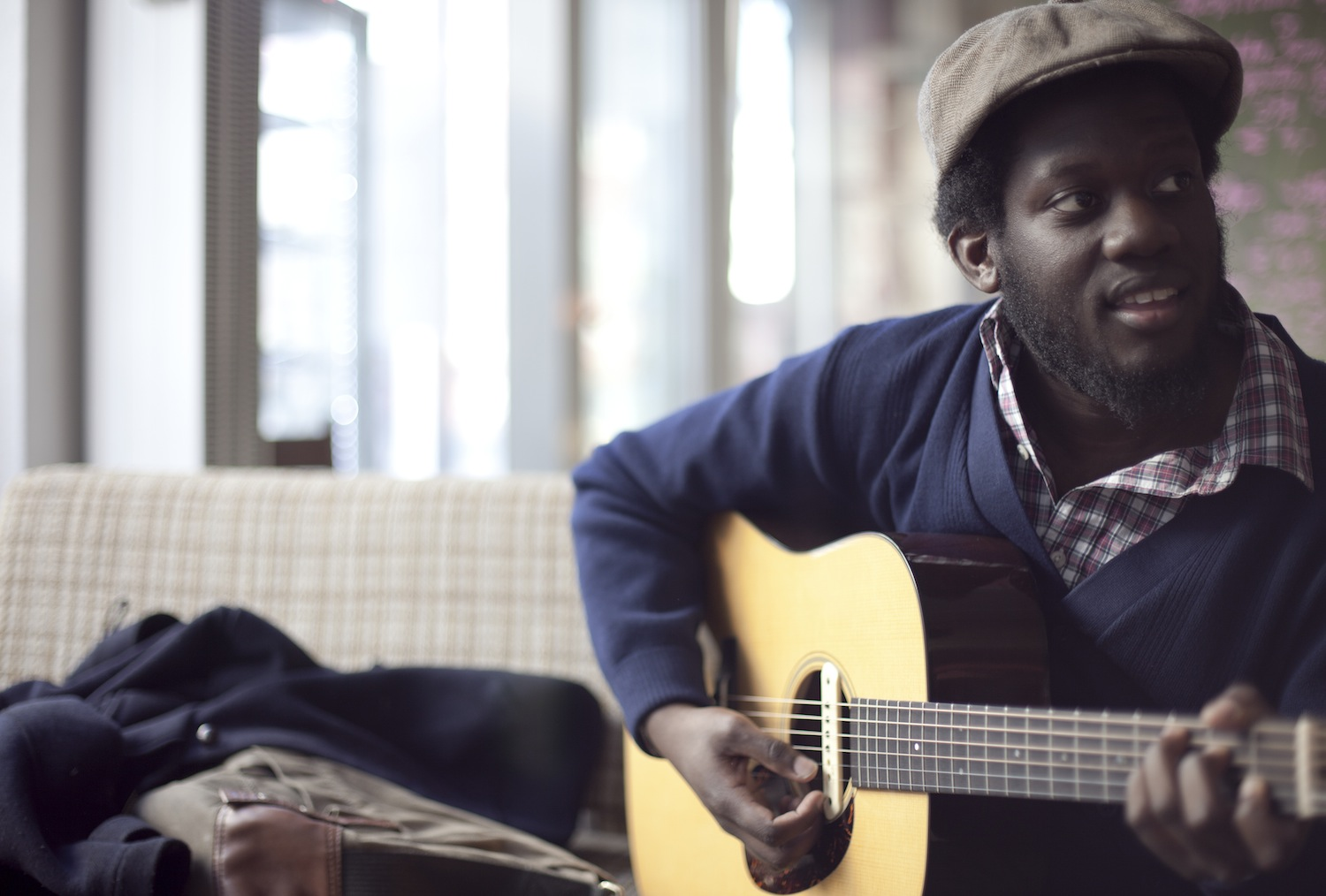 Micheal Kiwanuka winning over hearts with his love and hate album