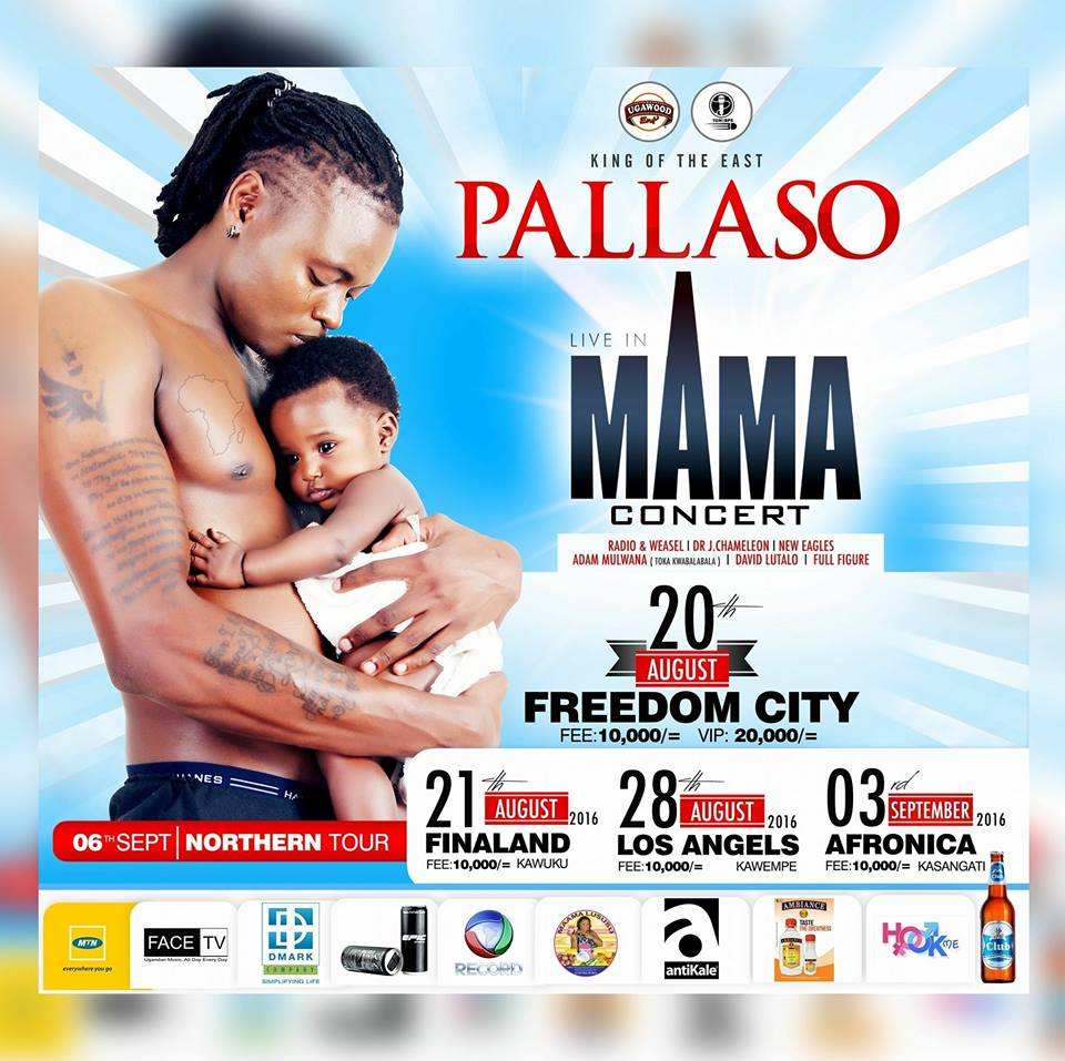 Pallaso is already gearing up for his Mama concert