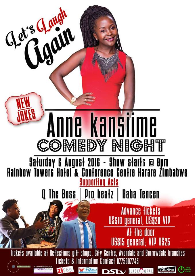 Anne Kansiime more than ready for her Zimbabwe show