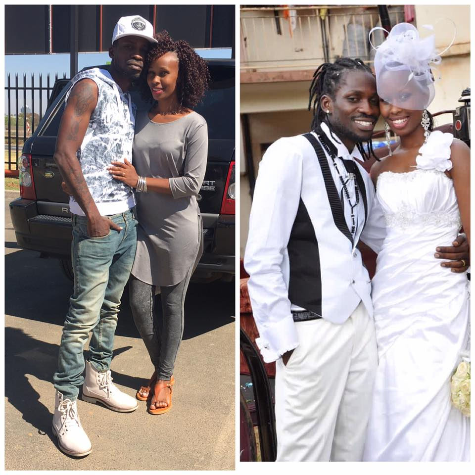 Barbie and Bobi Wine couldn't be happier as they made 5 years in marriage