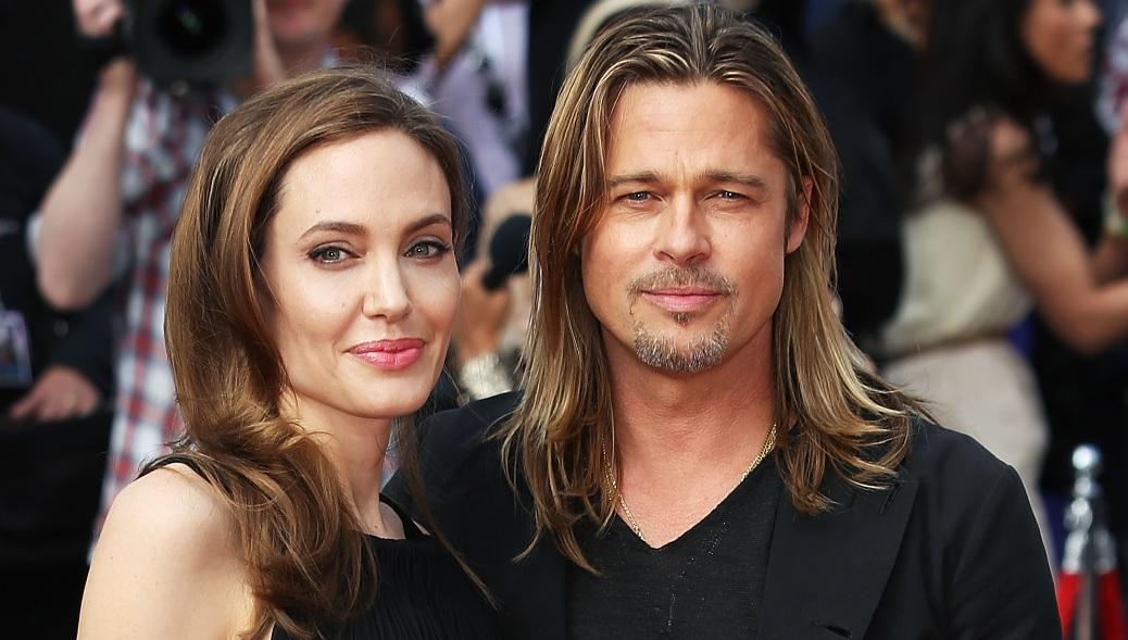 Brad Pitt Sad As Angel...