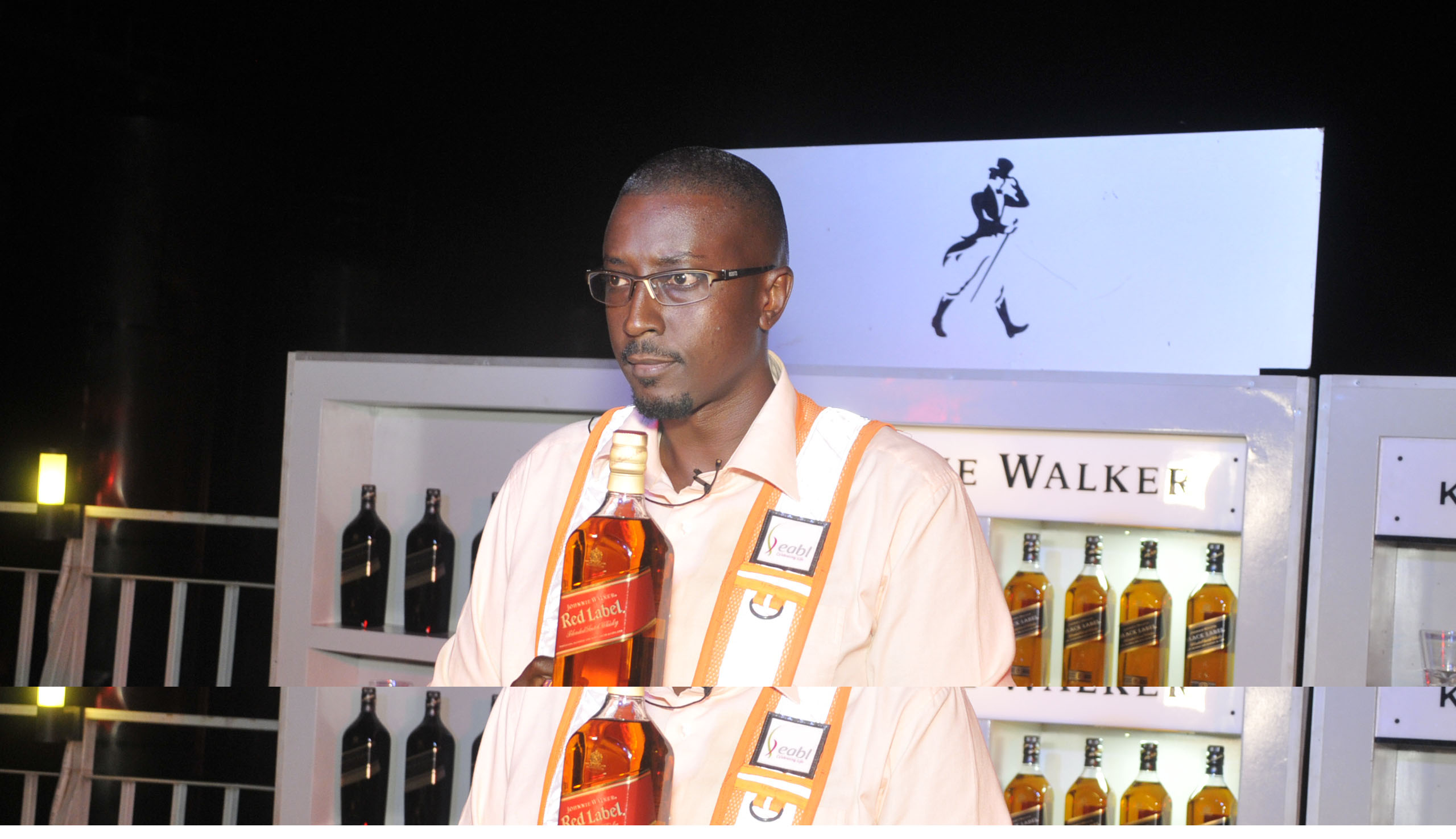 Marcus Kwikiriza, the Johnnie Walker Reserve Ambassador