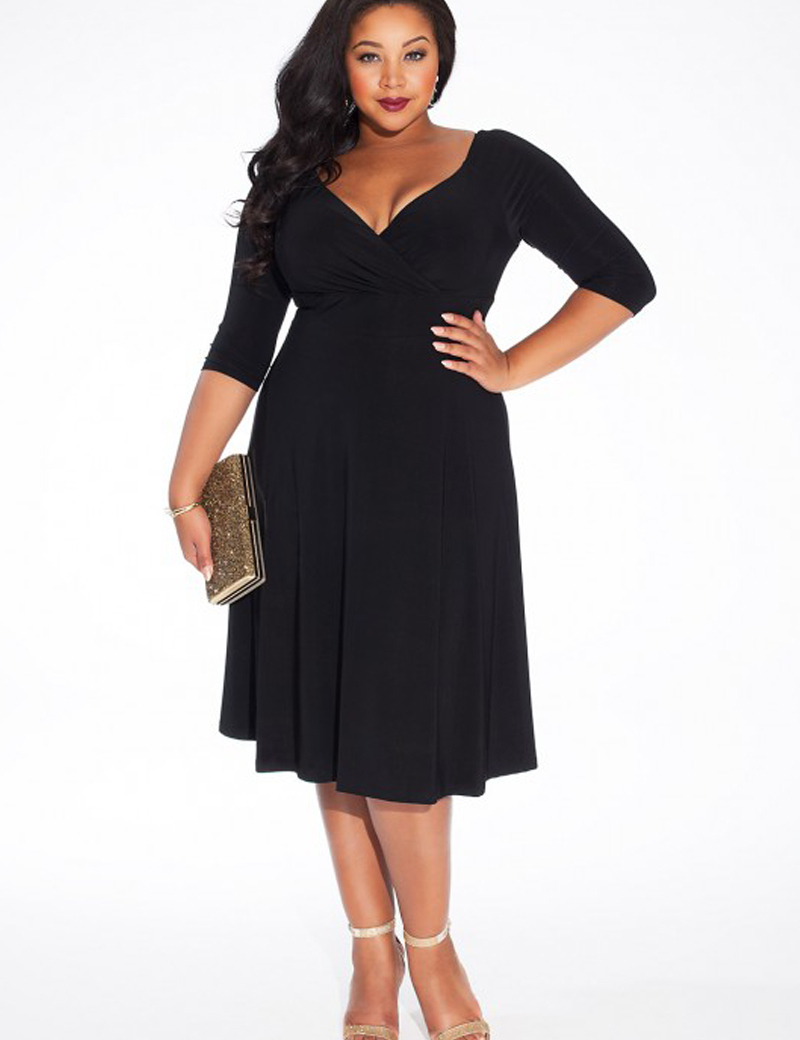 autumn-winter-dress-plus-size-women-clothing-casual-women-dress-bodycon-long-sleeve-sexy-vestidos-black