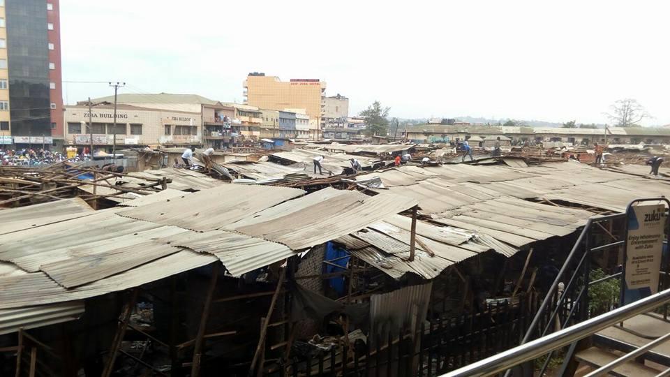 Park Yard Market Owino market