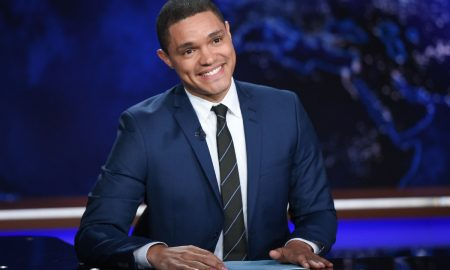 "092915112615, 21334631, FILE - In this Sept. 29, 2015 file photo, Trevor Noah appears during a taping of ""The Daily Show with Trevor Noah"" in New York. Noah replaced host Jon Stewart, who left the show in July. (Photo by Evan Agostini/Invision/AP, File)"