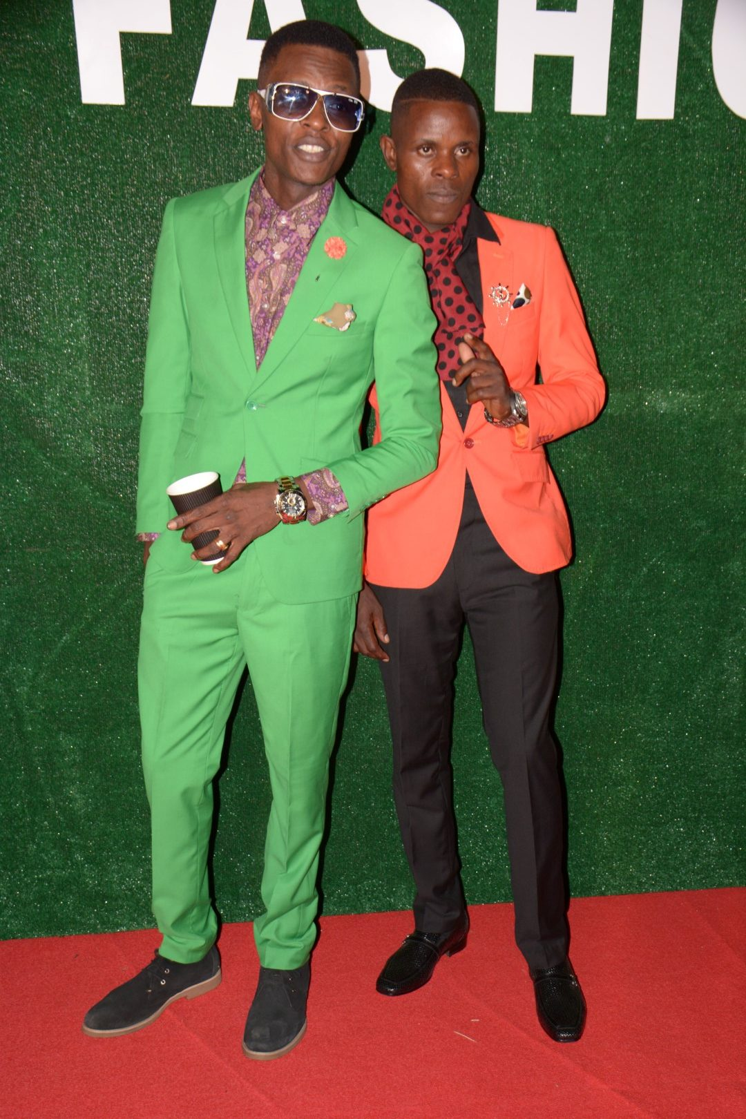 Chameleone and Sipapa, Photo by Habre Muriisa of Chano8