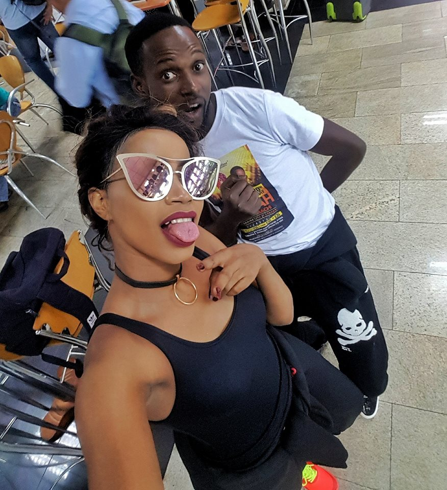Sheebah and comedian Mariachi