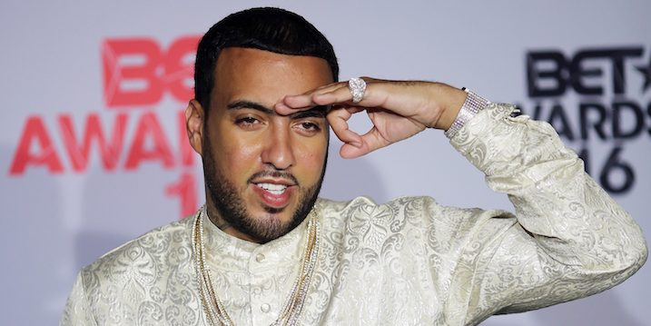 American rapper and singer French Montana