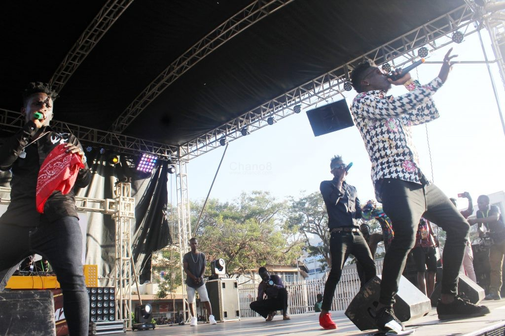Sheebah Mun G And B2c Fire Up Kcc Carnival At Bell Jamz