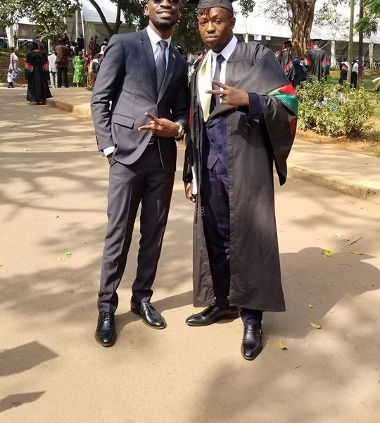 Bobi Wine's Congratulatory Message To Younger Brother Dax