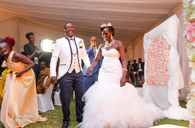 Robert mwesigwa wedding