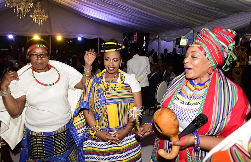 Photos Glitz And Glamour At Amama Mbabazi S Daughter S