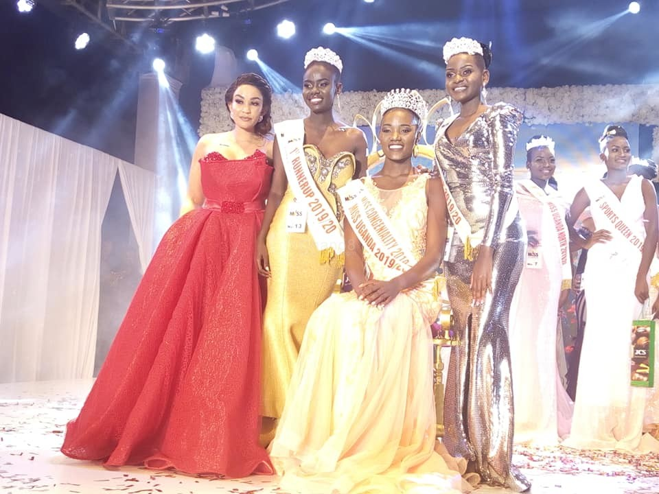 Image result for zari announce miss uganda 2019