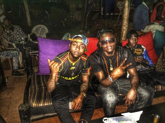 Davido rocks the Uganda Cranes jersey
