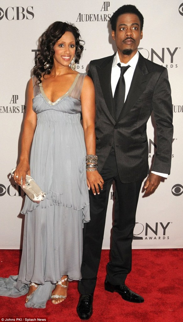 Chris Rock and Wife Malaak during the good old days