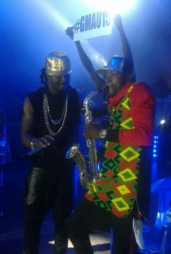 Bebe Cool helps amplify Jose Chameleone's prowess