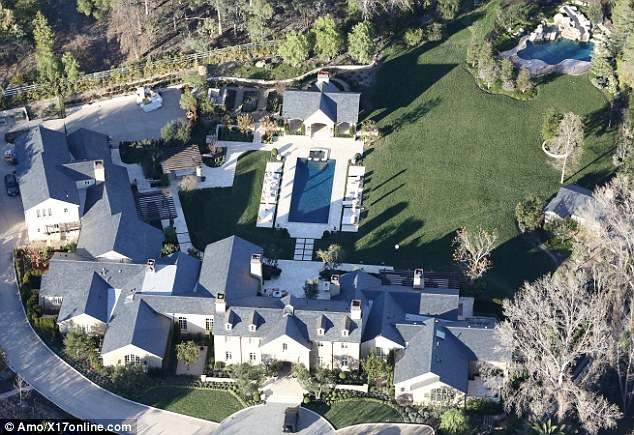 Kanye West and Kim Kardashians $20 million mansion
