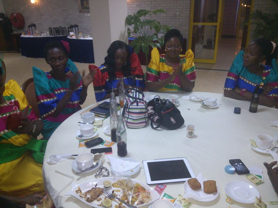 Several friends turned to support Maureen Nantume