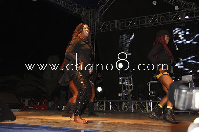 The Nigerian star put on a palpable show, am sure everybody got their money's worth.