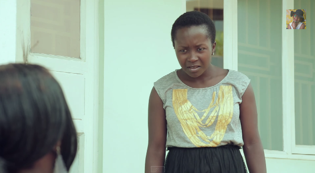Shock is well displayed on Anne Kansiime's face
