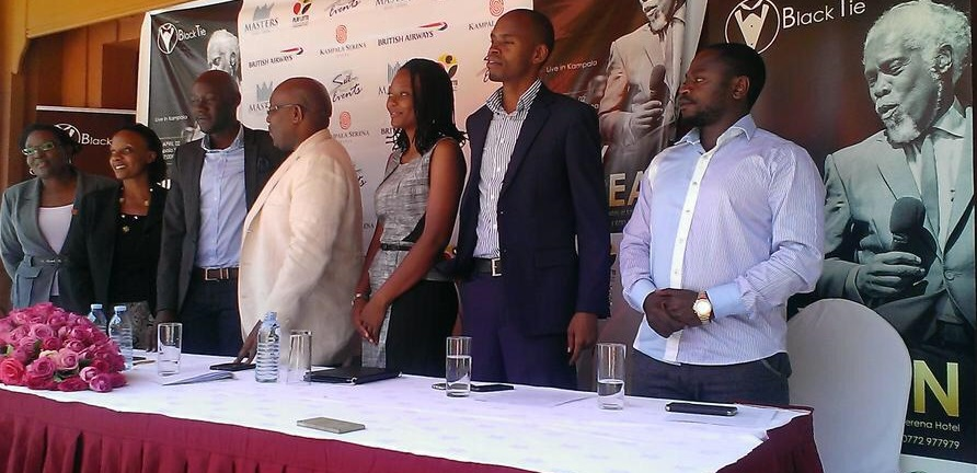 The organizers of the Billy Ocean concert at the press conference yesterday