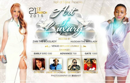 Official poster for the Art of Luxury event